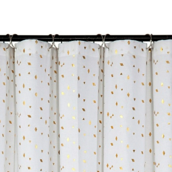 Target Gold Shower Curtain